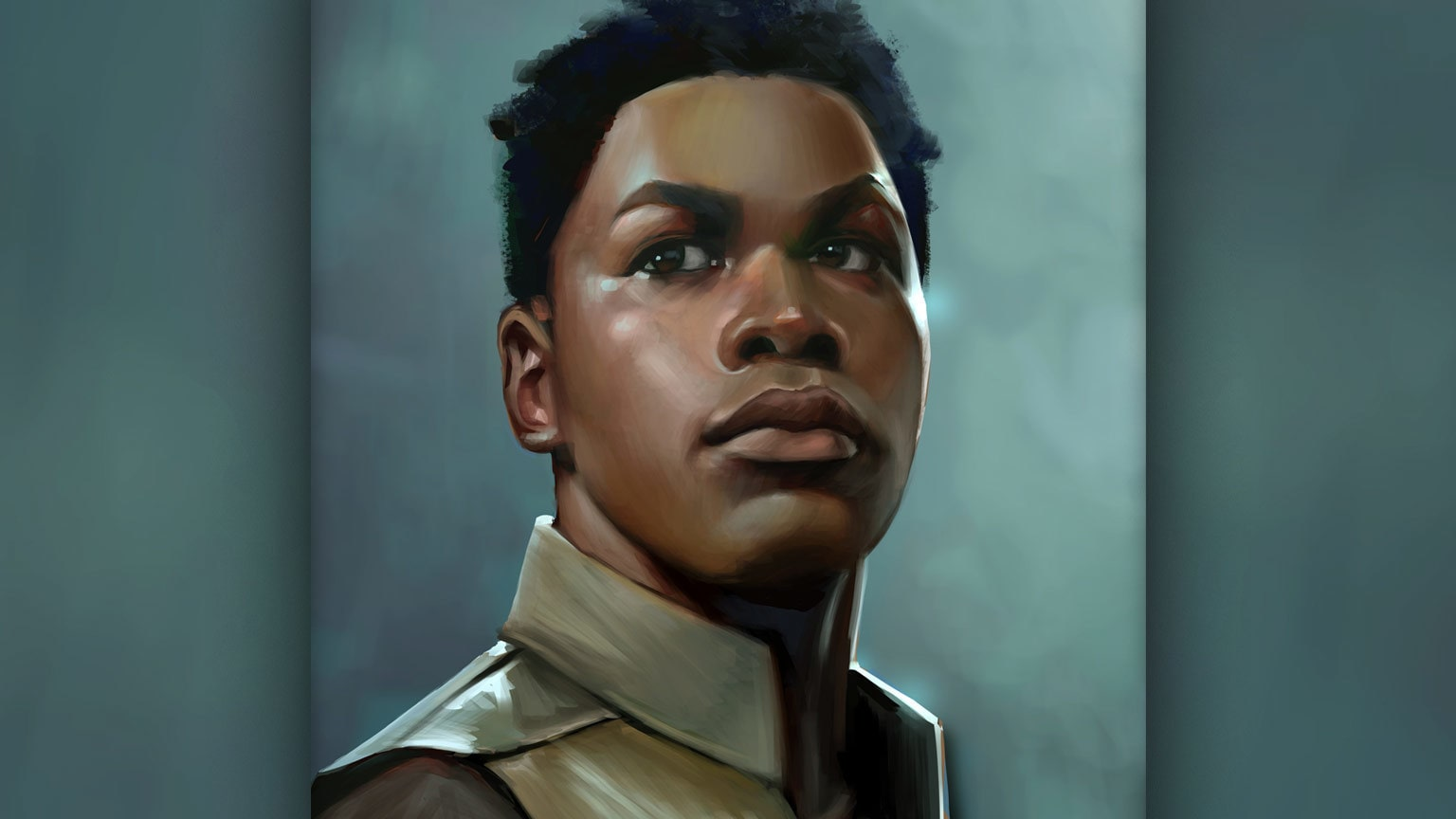 """""""The Potential of Finn"""": Mel Milton on His Black History Month Portrait"""