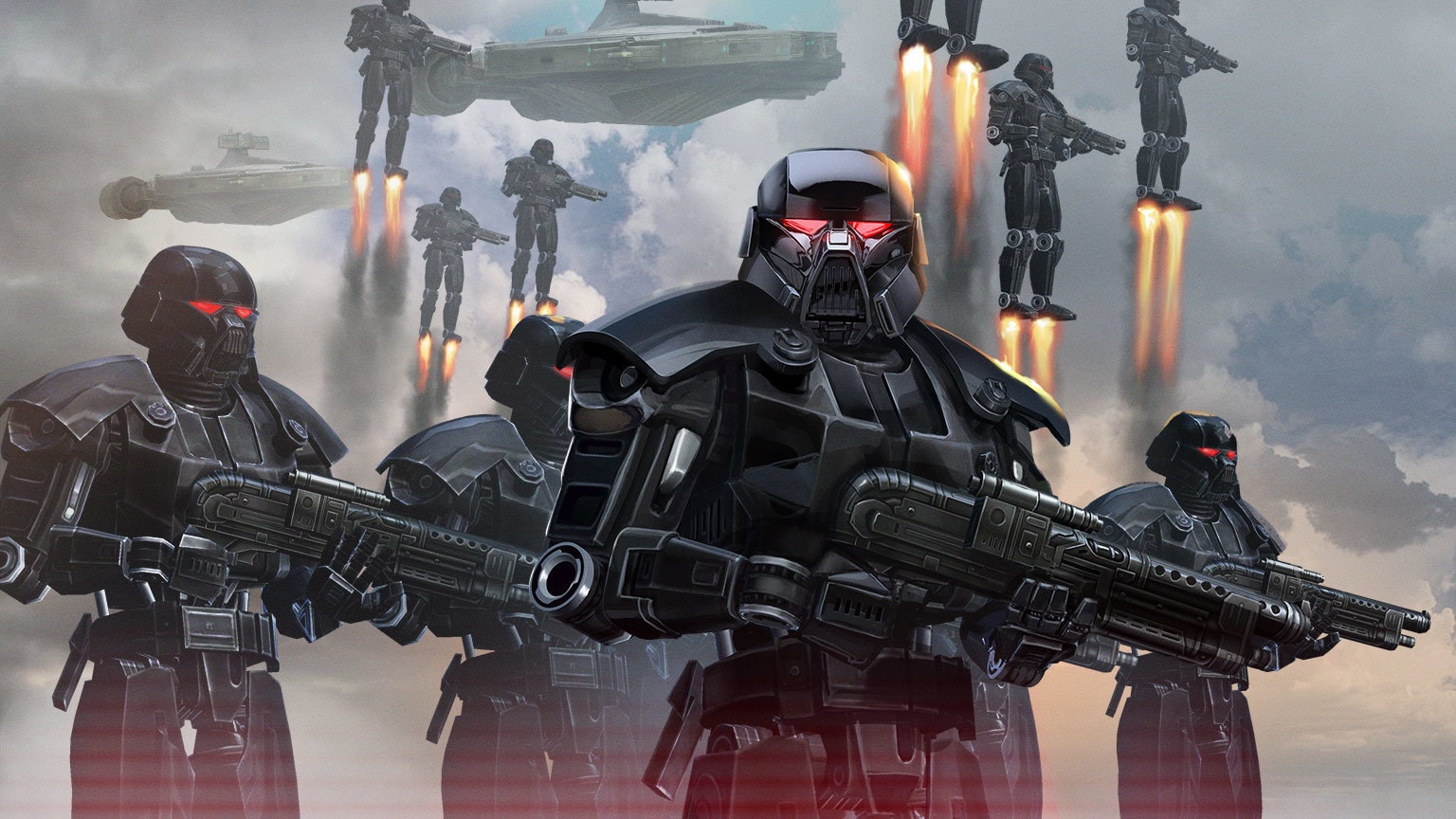 Moff Gideon's Dark Troopers Join Star Wars: Galaxy of Heroes