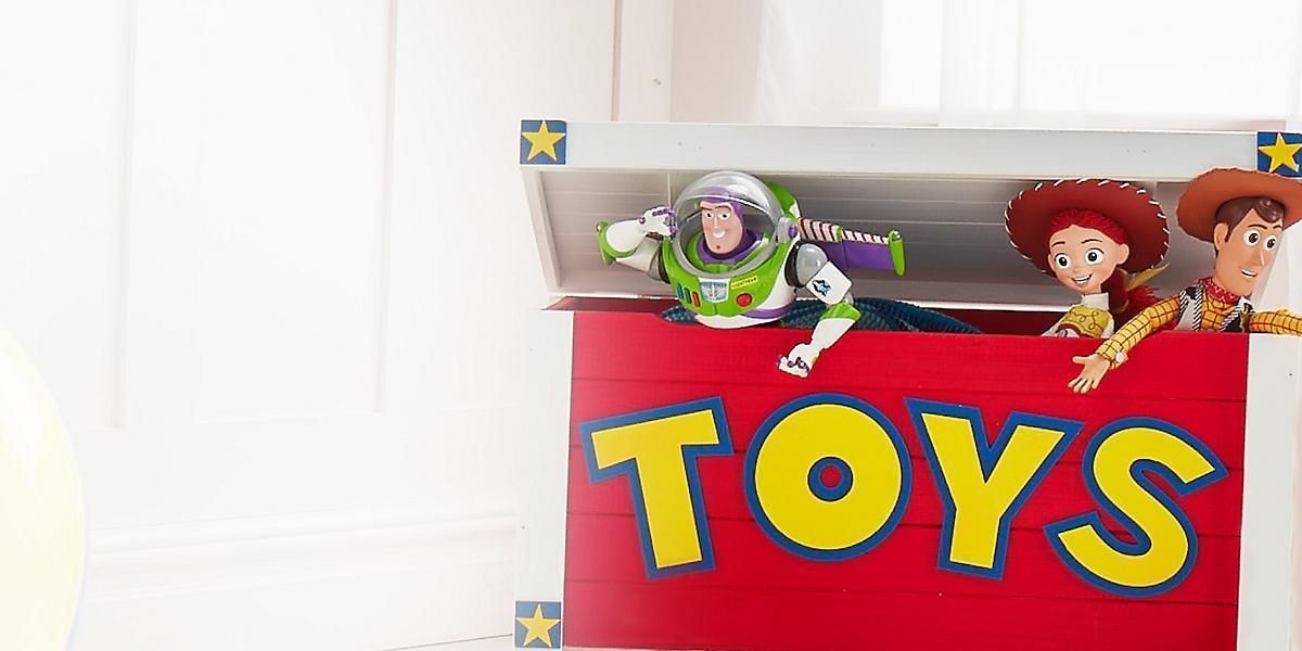 Una selección de juguetes de shopDisney