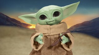 Meet Hasbro's Adorable (and Hungry) Galactic Snackin' Grogu