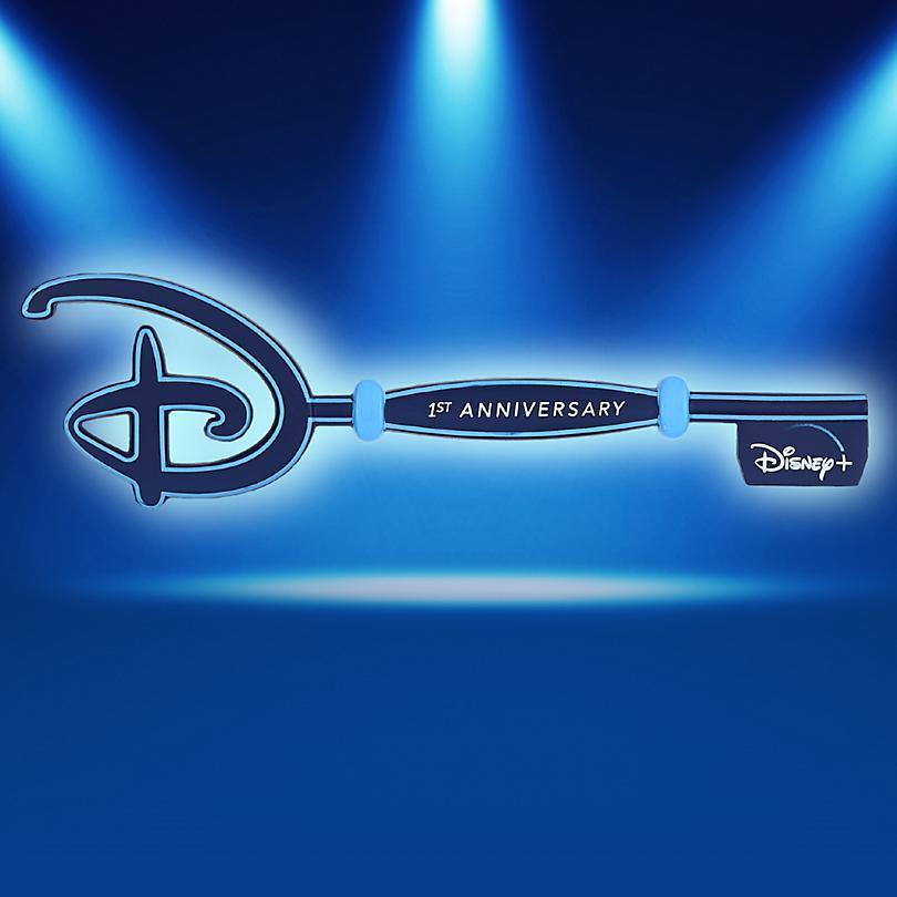 Una chiave Disney Store di Disney+