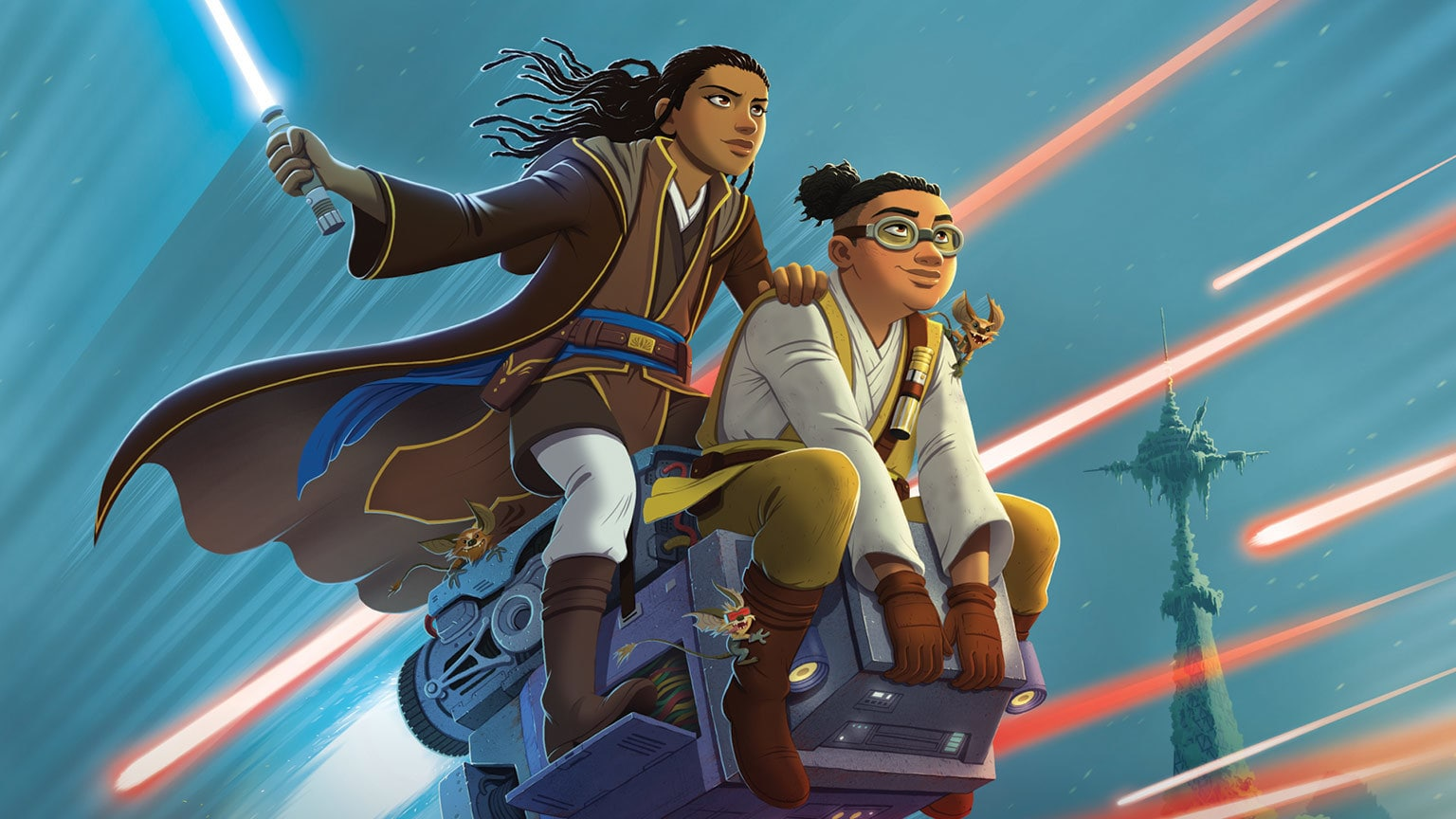Jedi Vernestra Rwoh Calls for Help in Star Wars: The High Republic: The Race to Crashpoint Tower – Exclusive Excerpt