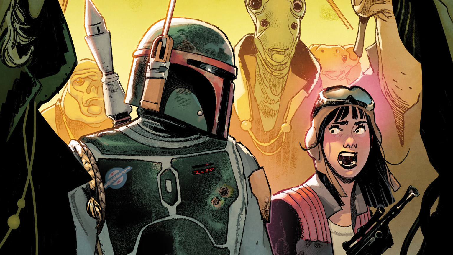 The War of the Bounty Hunters Erupts in Marvel's July 2021 Star Wars Comics – Exclusive