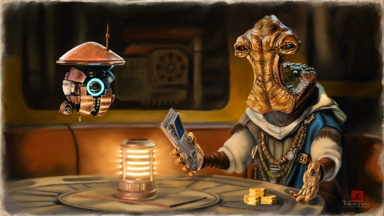 In Star Wars: Tales from the Galaxy's Edge – Part II, Dok-Ondar Has a Job for You
