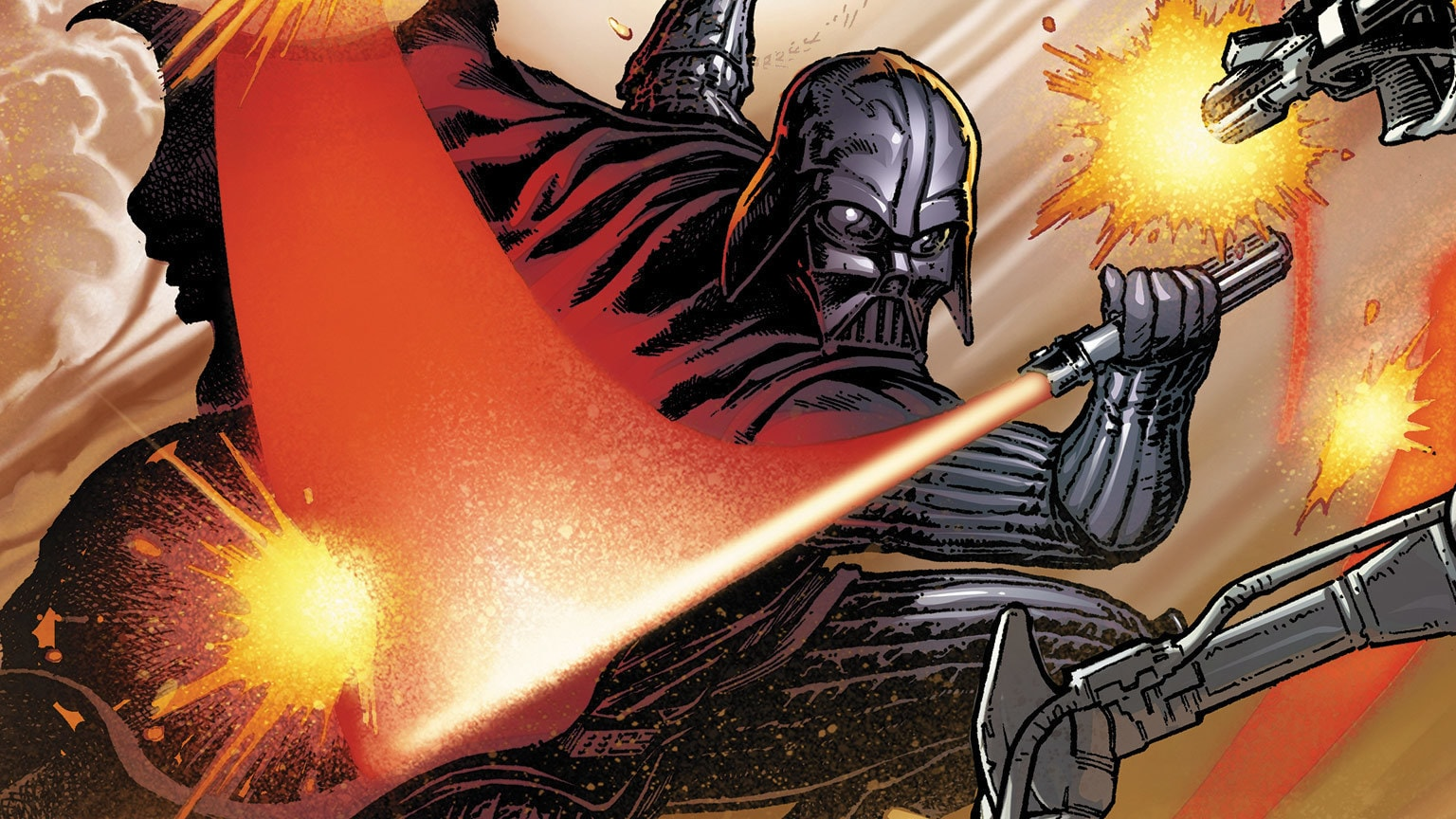 Darth Vader Takes on IG-88 in Marvel's Star Wars: Darth Vader #13 – Exclusive Preview