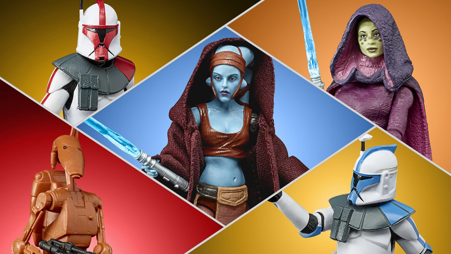 New Black Series and Vintage Collection Figures to Celebrate the Clone Wars 2D Micro-Series