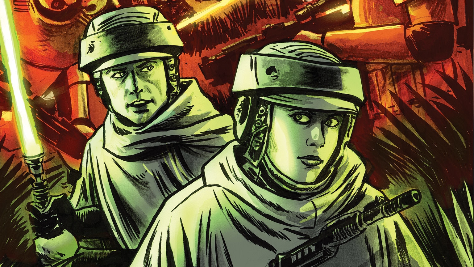 The Skywalker Twins Explore the Galaxy in IDW's Star Wars Adventures #7 – Exclusive Preview
