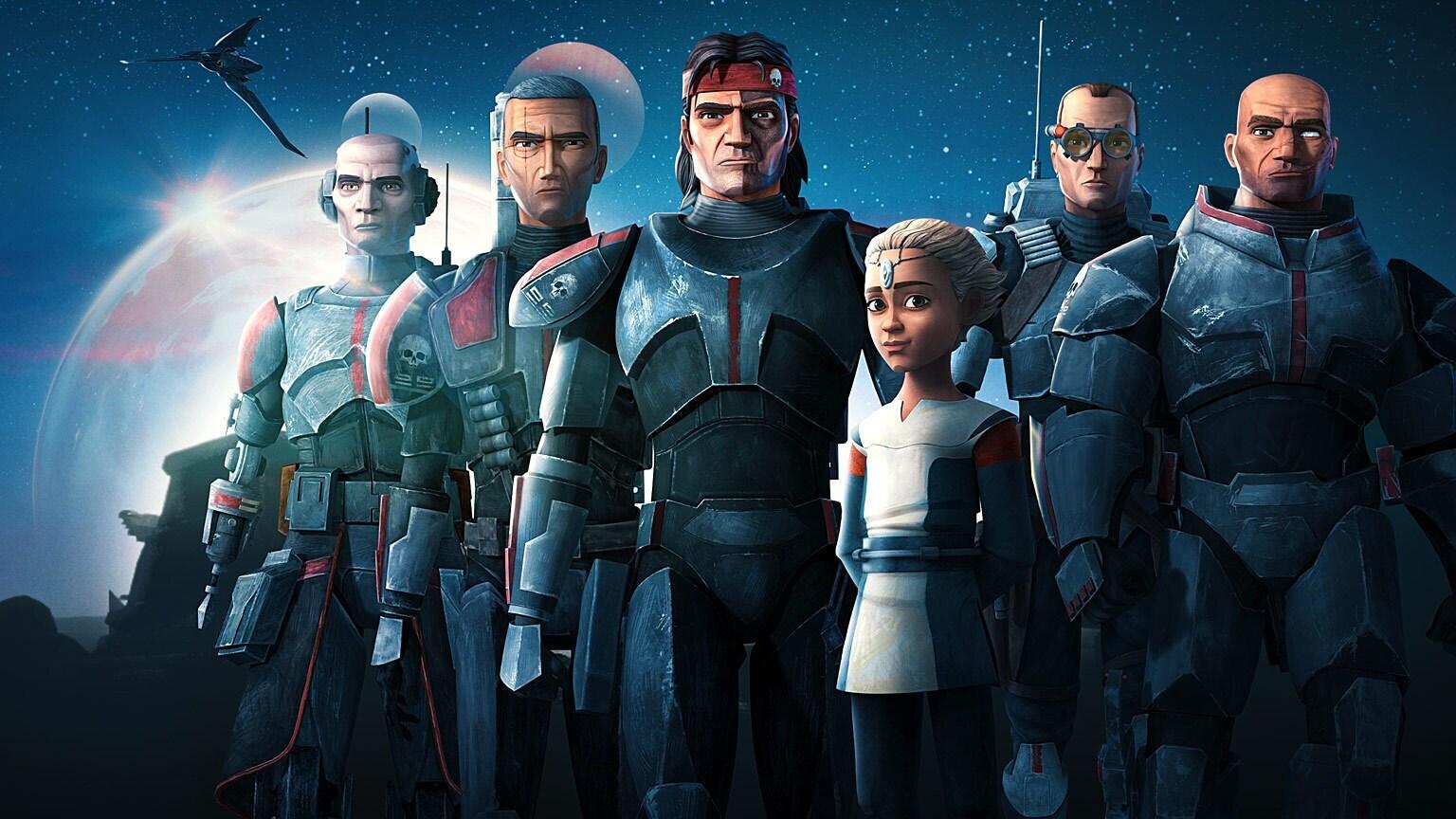 Disney+ Announces Season 2 of Star Wars: The Bad Batch