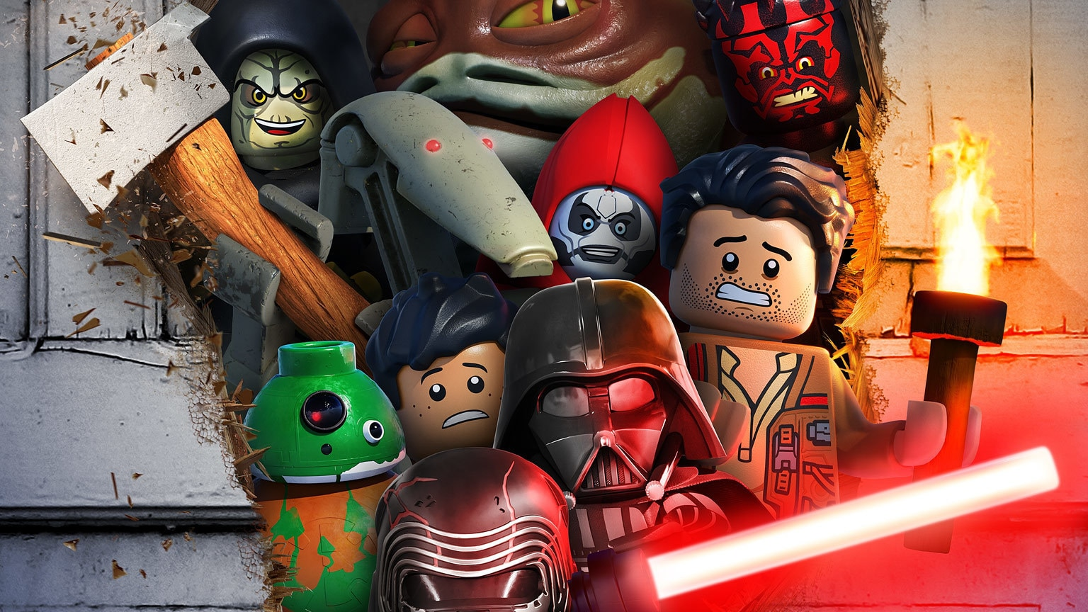 Gaze Upon the Petrifying Poster for LEGO Star Wars Terrifying Tales!