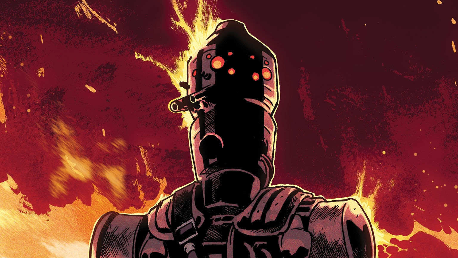 A Droid Resurrected in Star Wars: War of the Bounty Hunters – IG-88 #1 – Exclusive Preview