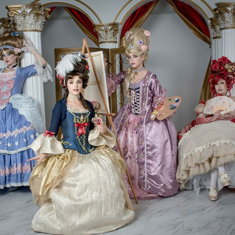 Disney Fans Put Together a Stunning Rococo Princess-Inspired Photoshoot