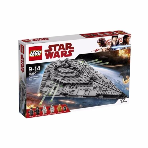 LEGO® First Order Star Destroyer เลโก้ สตาร์วอร์ เฟิร์ส ออเดอร์ สตาร์ เซทรอยเยอร์