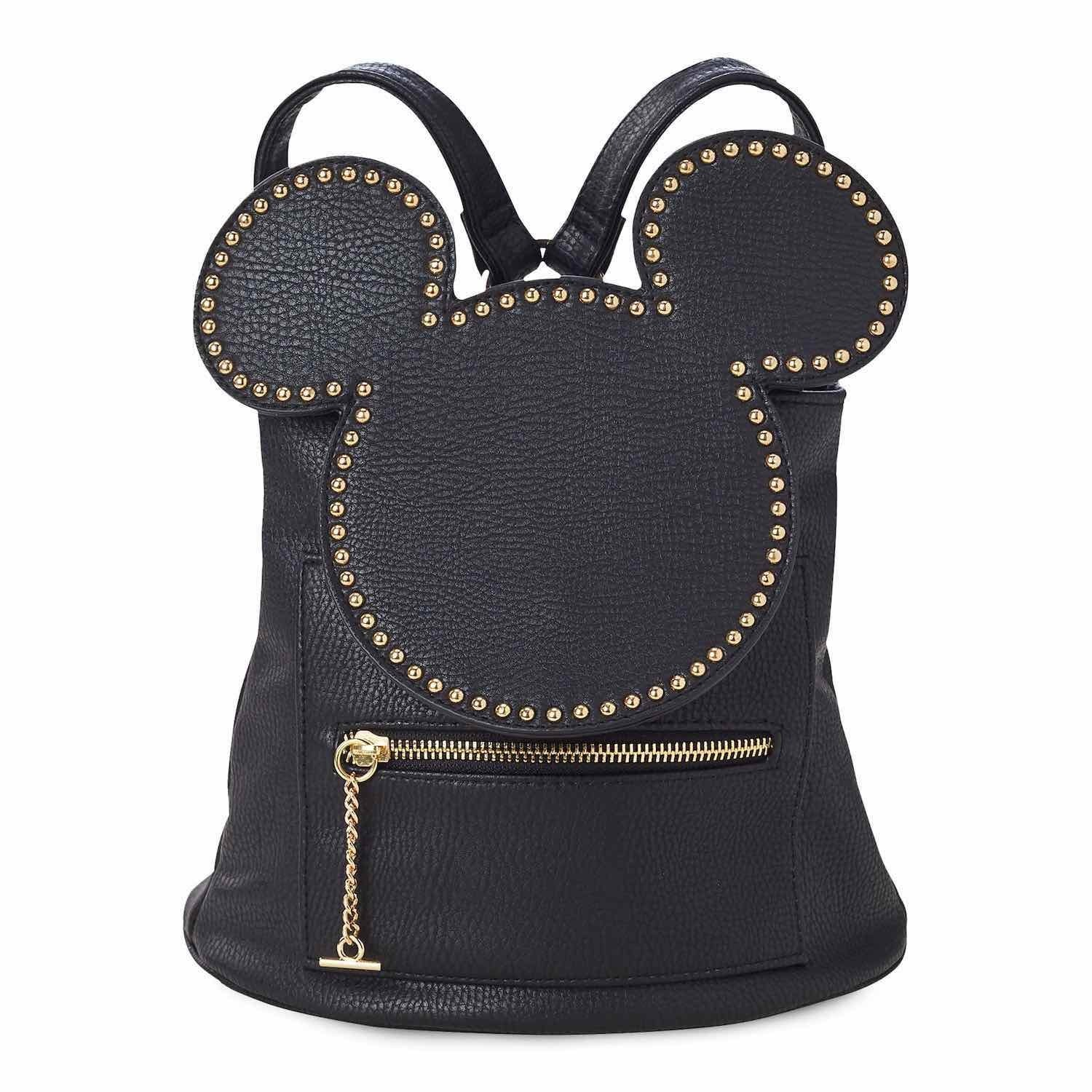 Mickey Mouse black and gold backpack