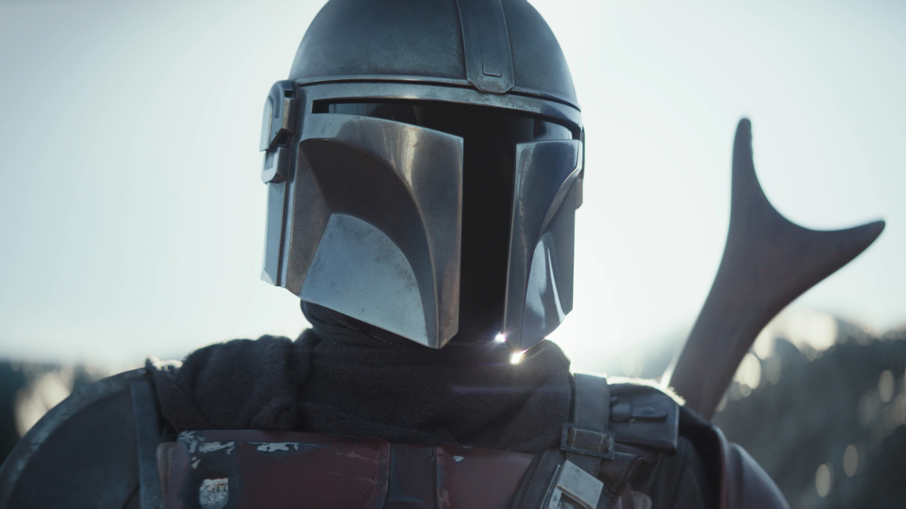 Caption :Pedro Pascal is The Mandalorian in the Disney+ series THE MANDALORIAN. Byline :Lucasfilm Ltd. Copyright :(c) 2109 Lucasfilm Ltd. All Rights Reserved.