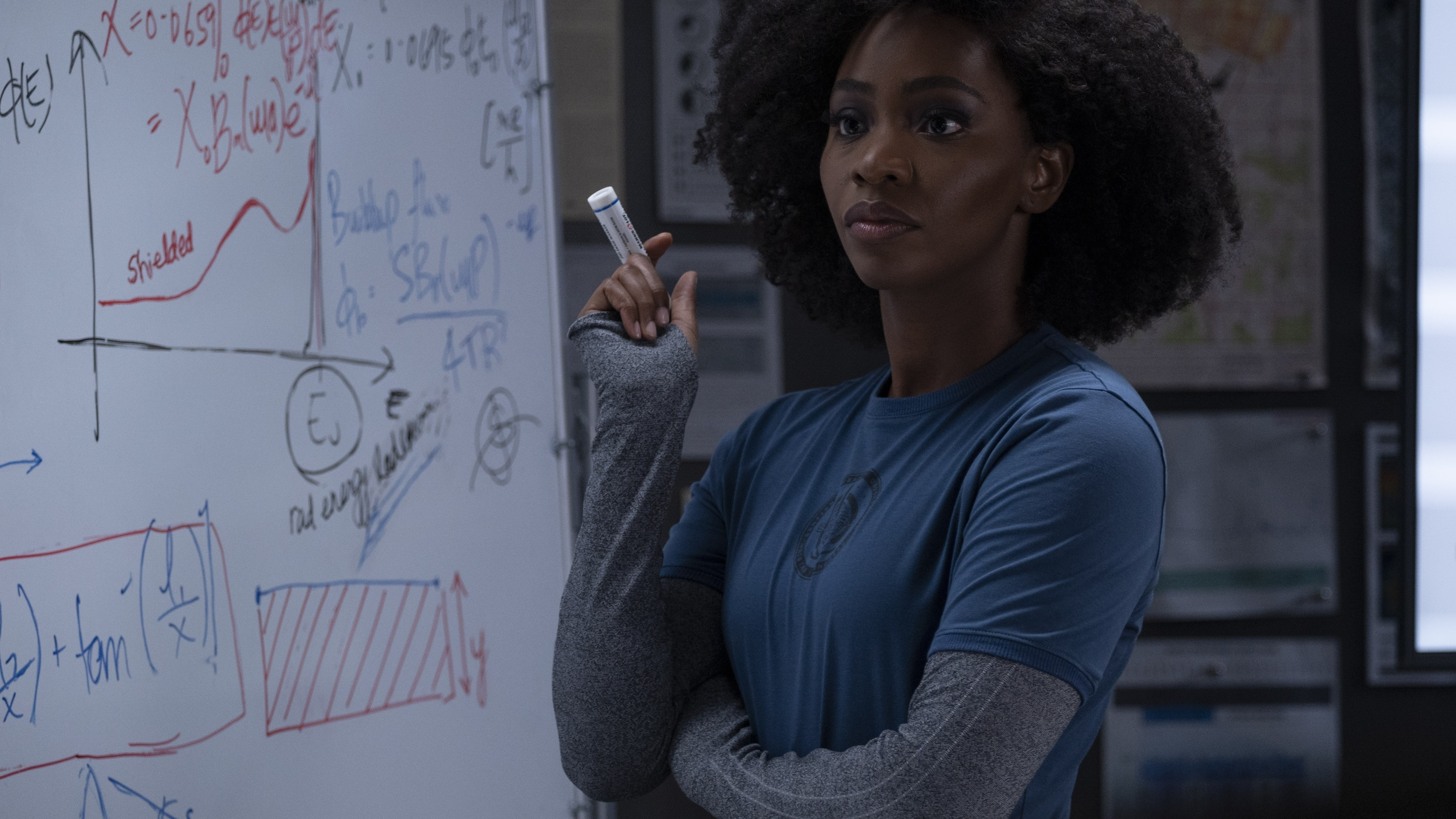 Teyonah Parris as Monica Rambeau in Marvel Studios' WANDAVISION exclusively on Disney+. Photo by Suzanne Tenner. ©Marvel Studios 2021. All Rights Reserved.