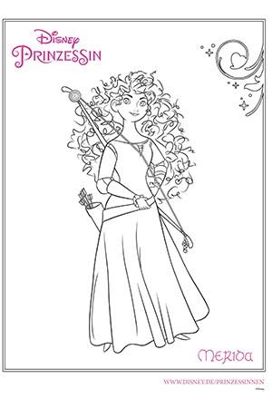 Disney Prinzessin - Merida