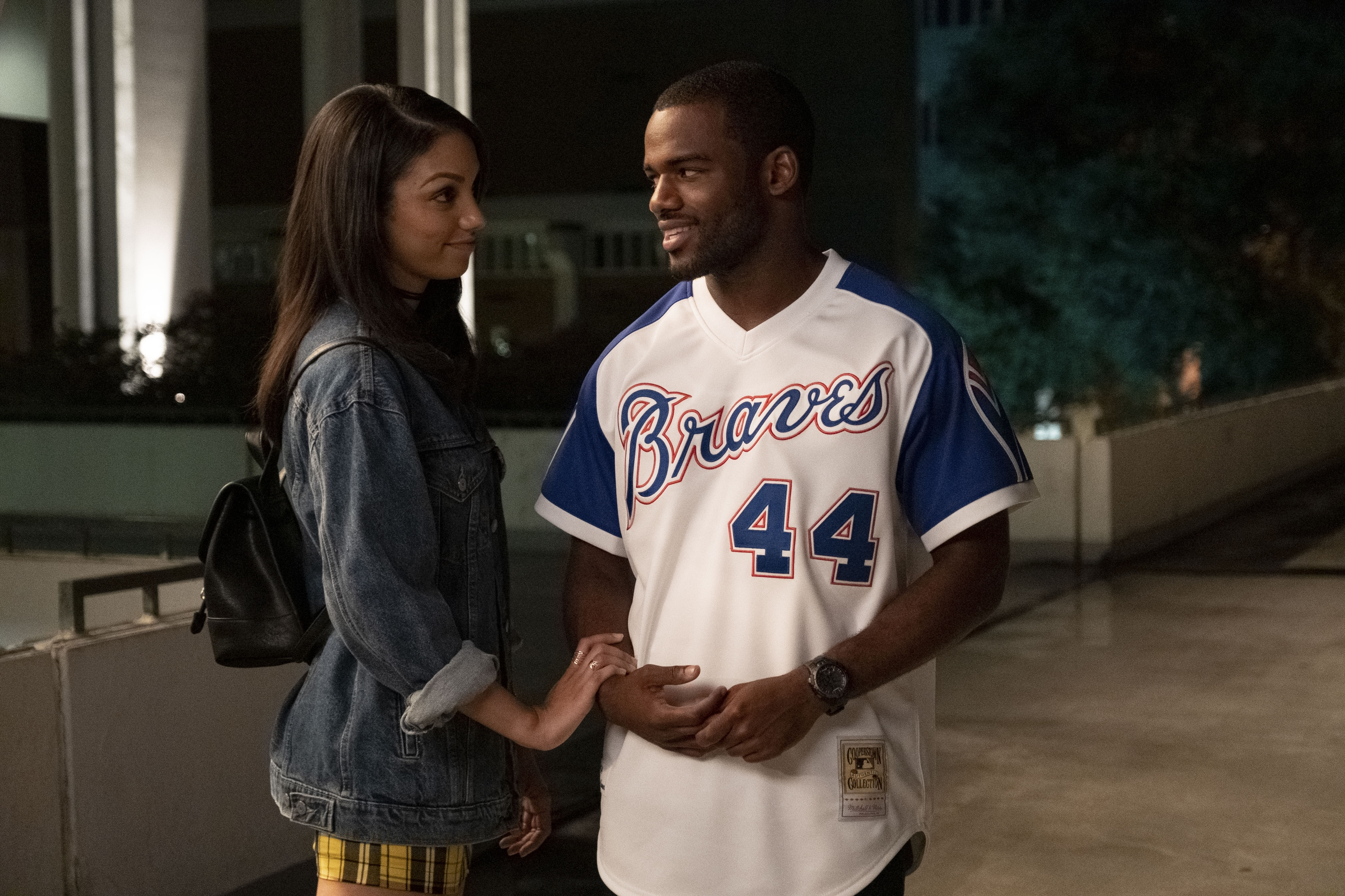 Corinne Foxx and Jay Reeves