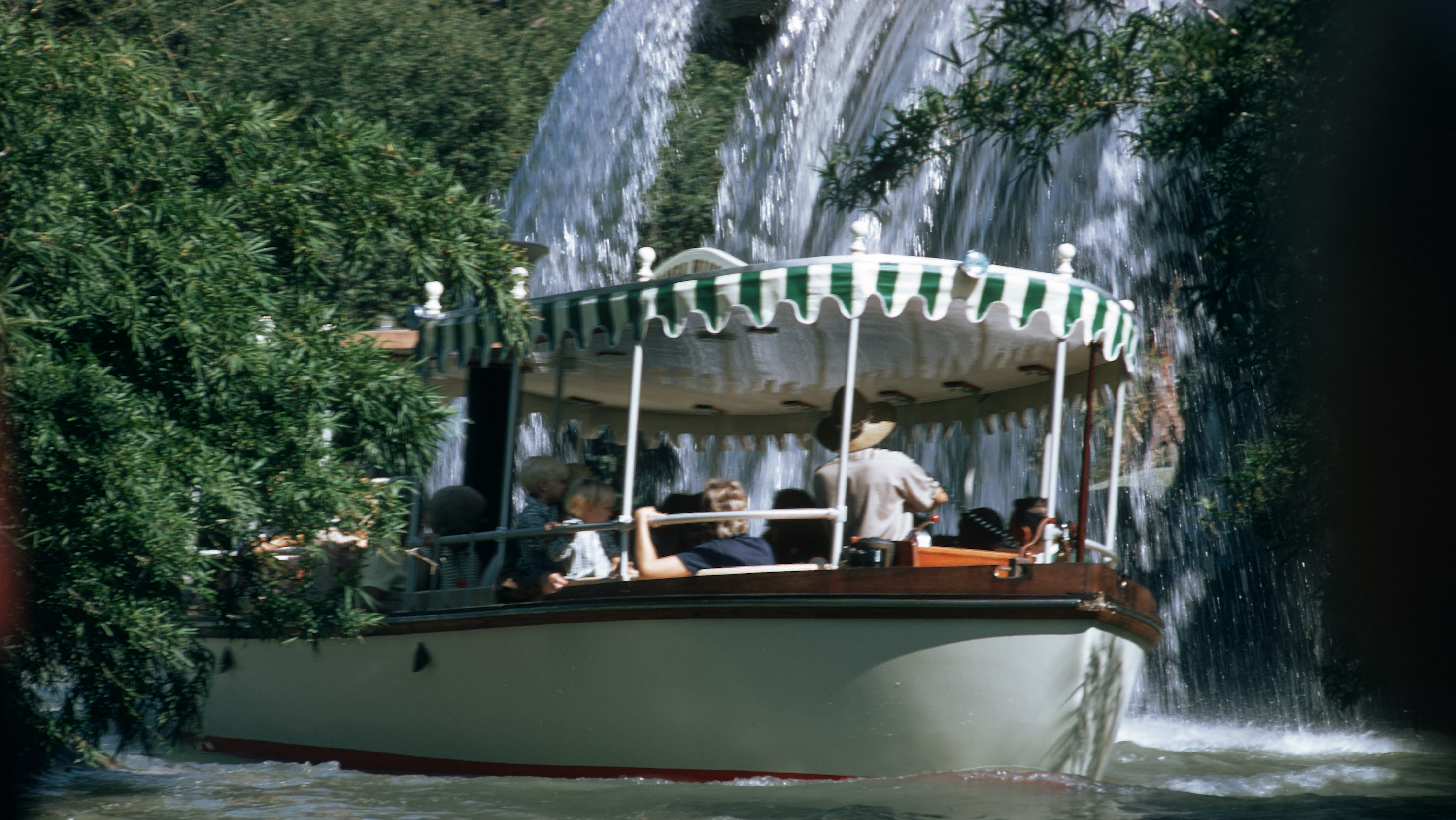 Image of a boat from the Jungle Cruise ride.