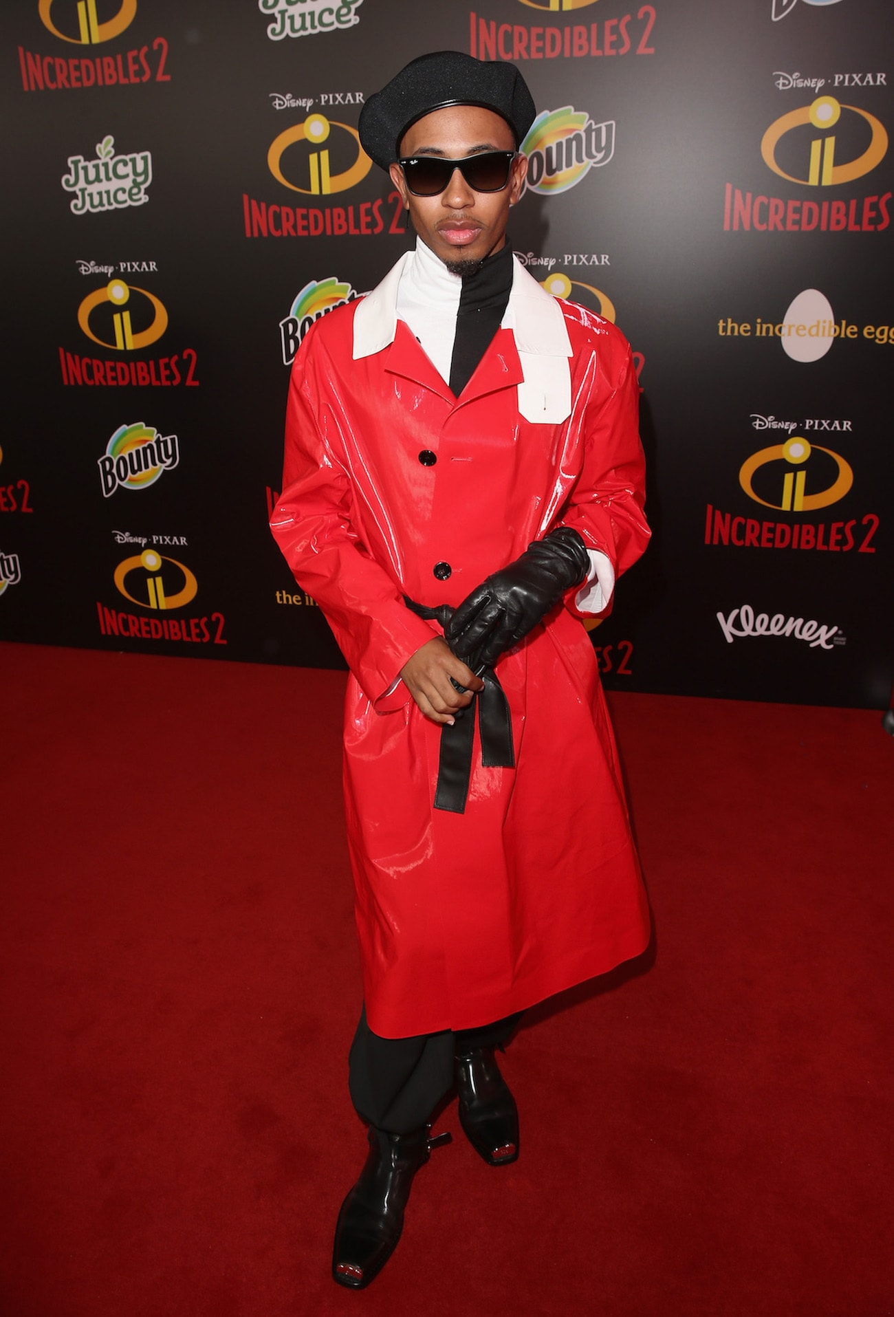 Kalen Allen posing for a picture on the red carpet