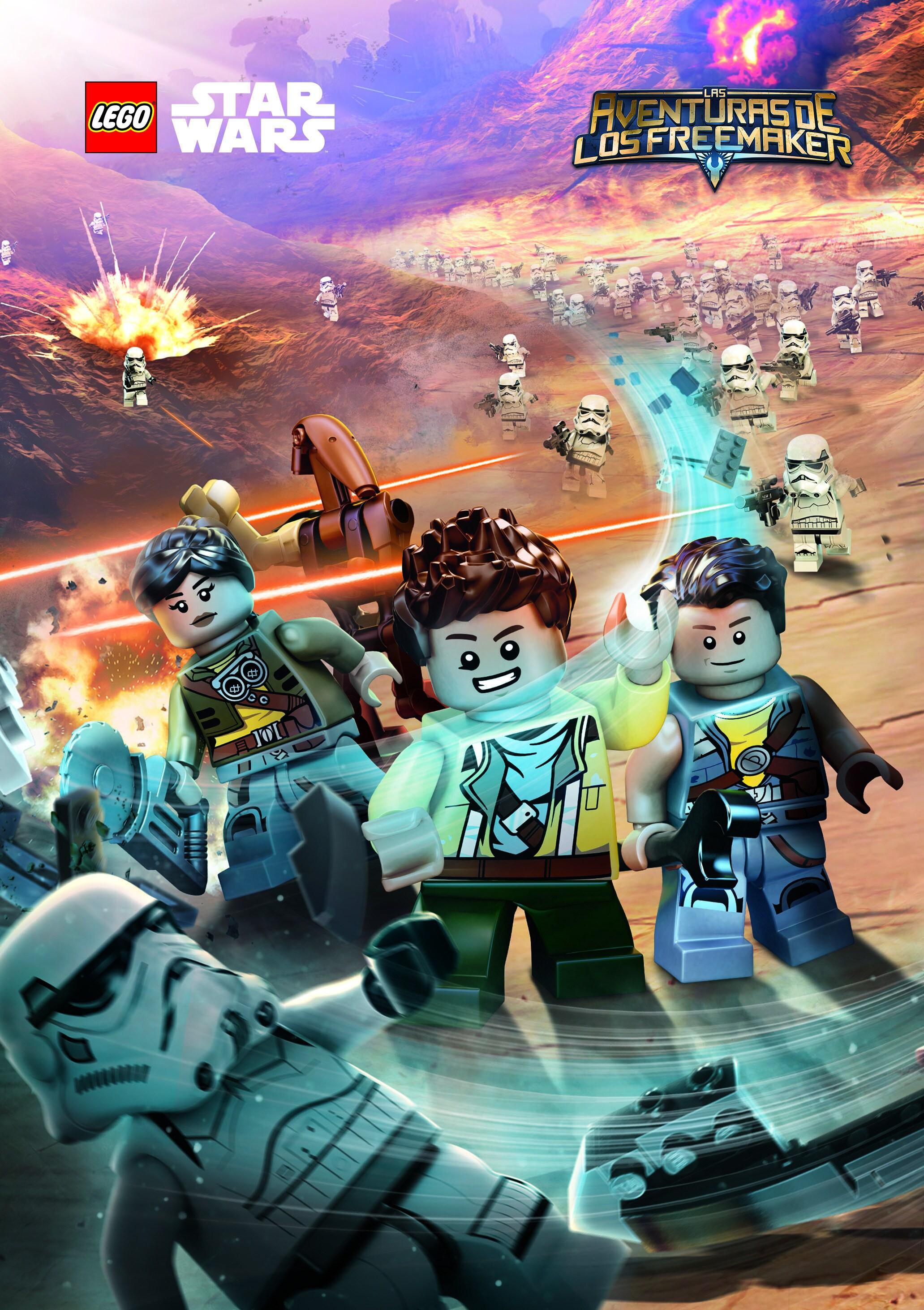 Póster de Lego Star Wars