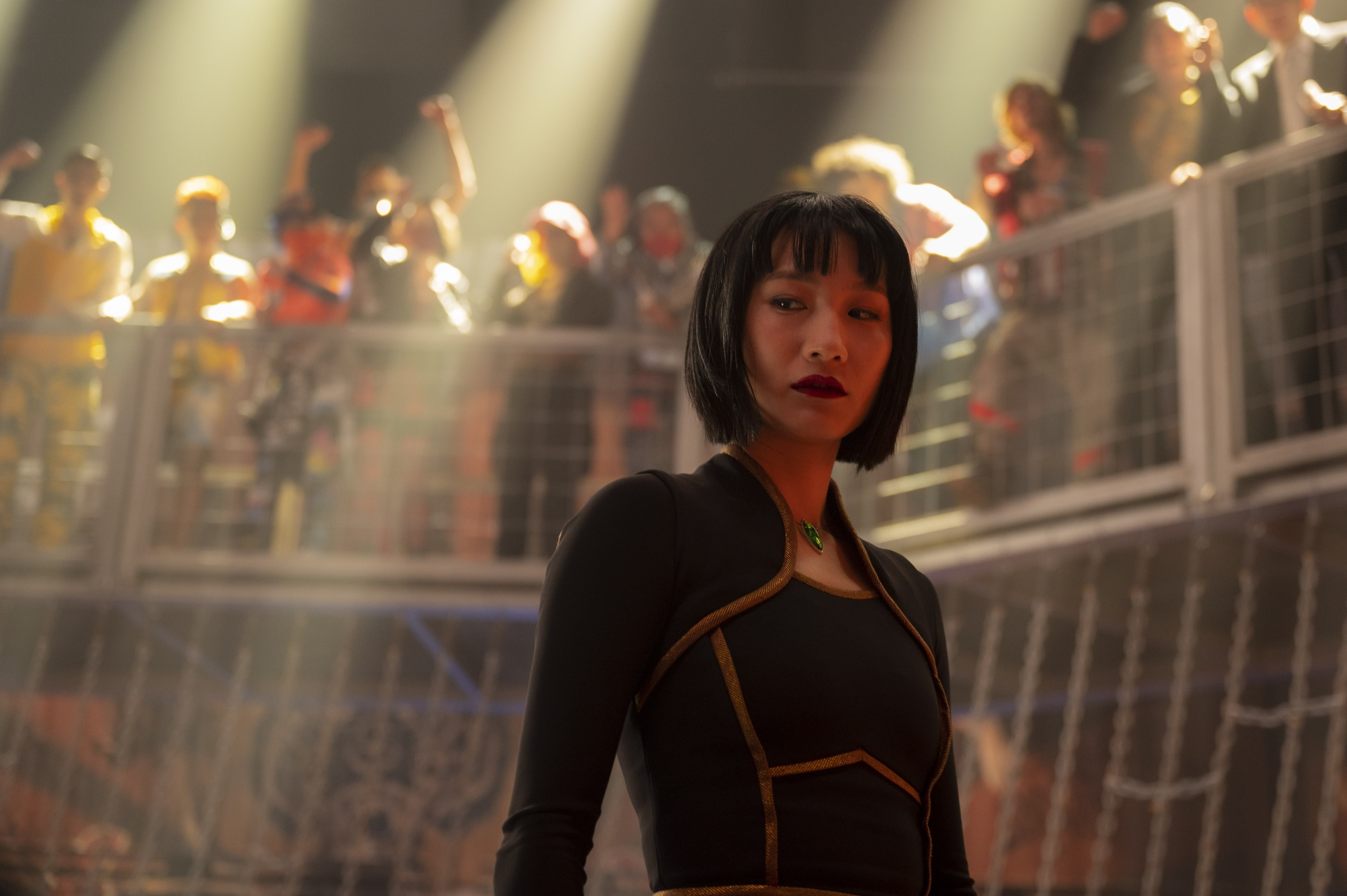Meng'er Zhang plays Xialing in Marvel Studios' Shang-Chi and The Legend of The Ten Rings