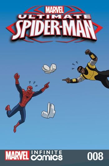 ULTIMATE SPIDER-MAN INFINITE DIGITAL COMIC #8