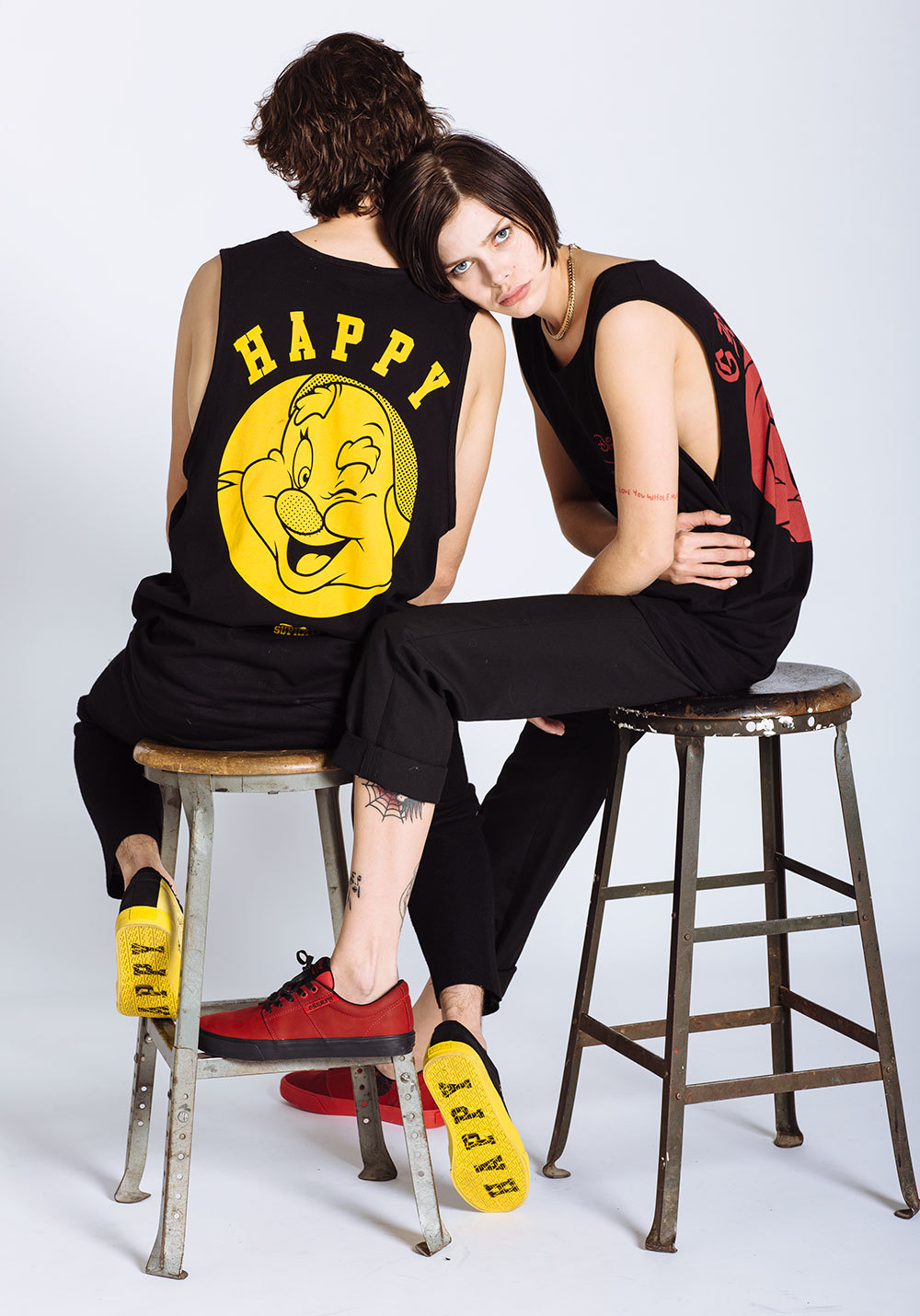 Fashion Items from the SUPRA Snow White Collection