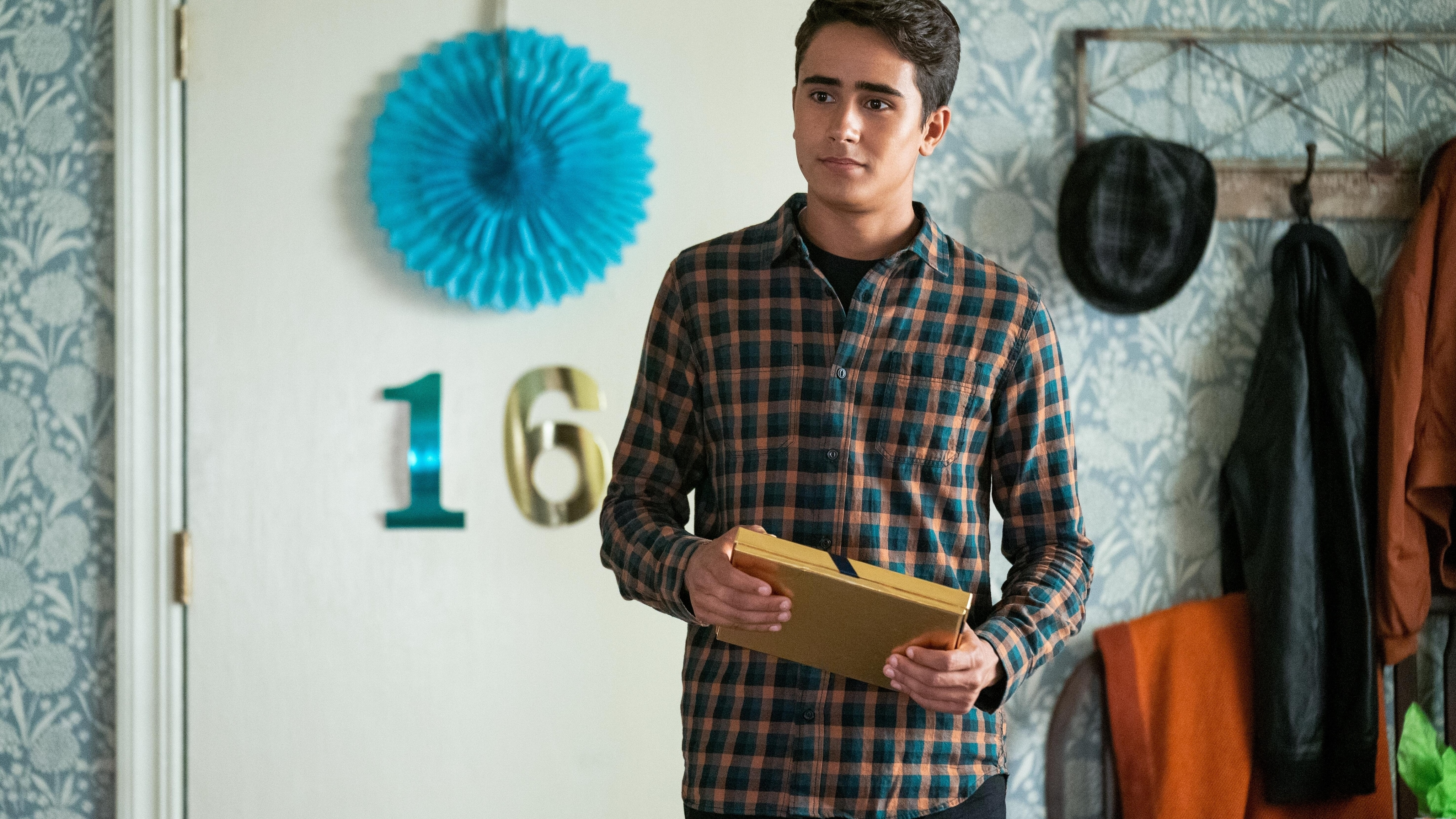 A still image from love victor