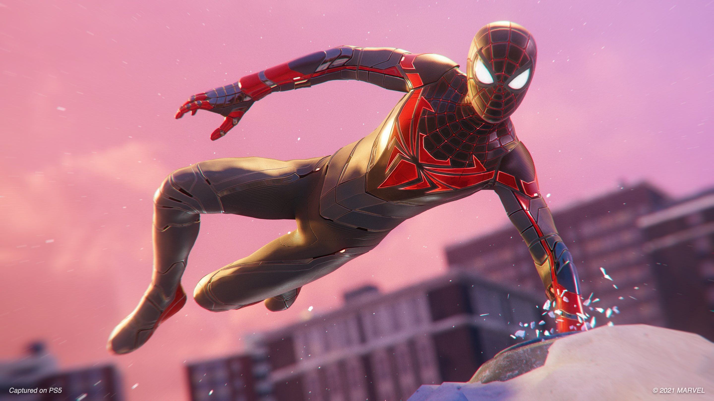 Disfruta del nuevo Advanced Tech Suit en Marvel's Spider-Man: Miles Morales