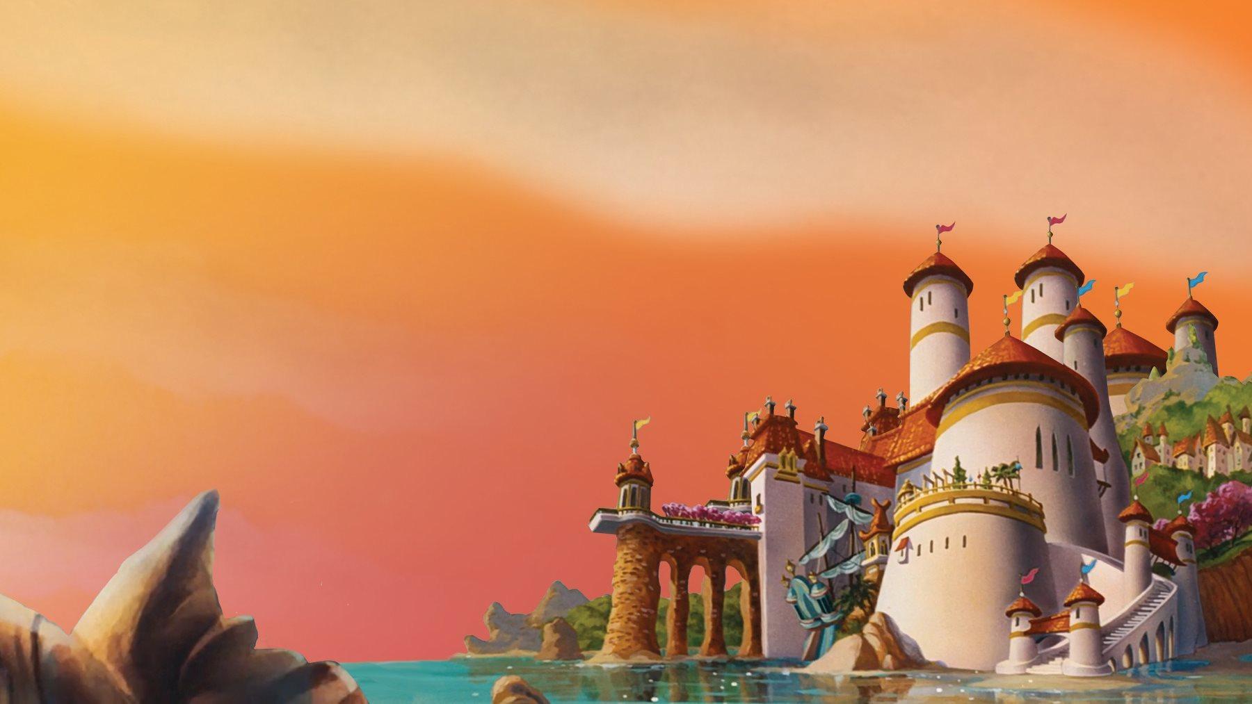 the little mermaid castle