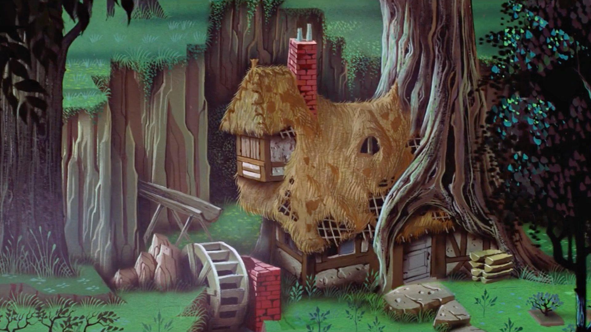 sleeping beauty's cottage