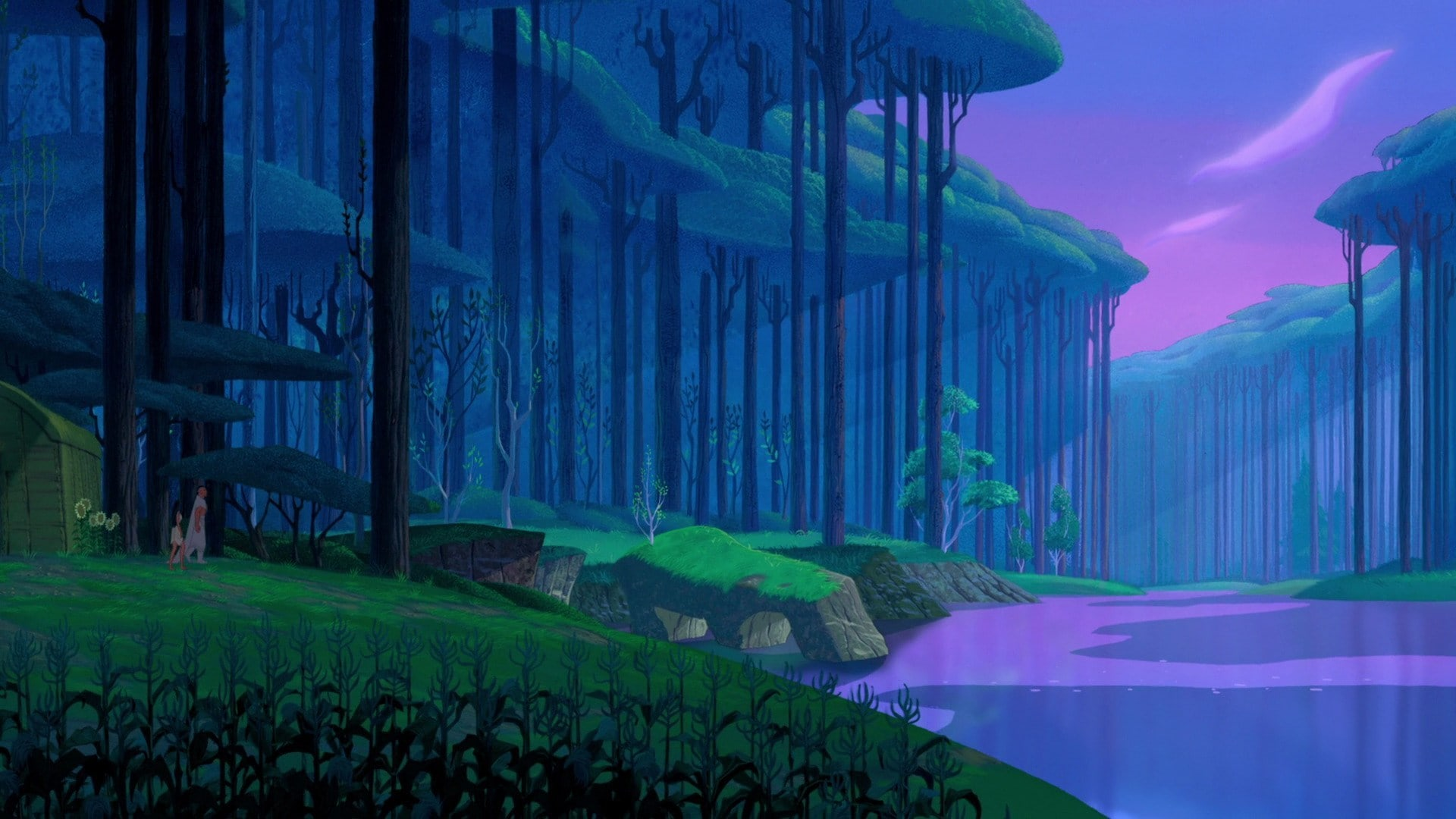 forest from Pocahontas