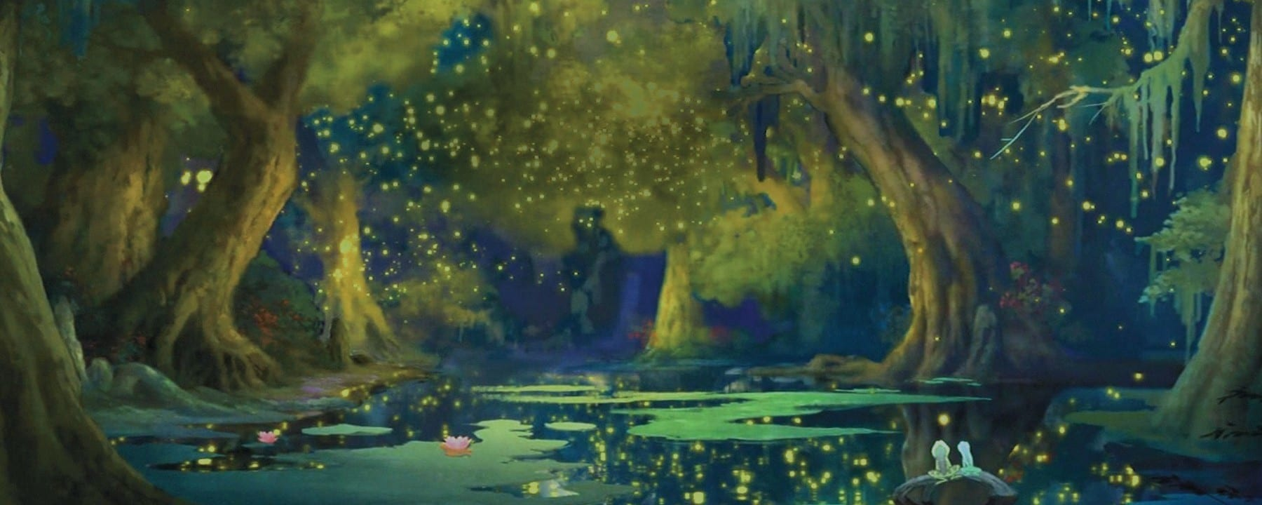 bayou from the princess and the frog