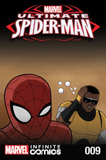 ULTIMATE SPIDER-MAN INFINITE DIGITAL COMIC #9
