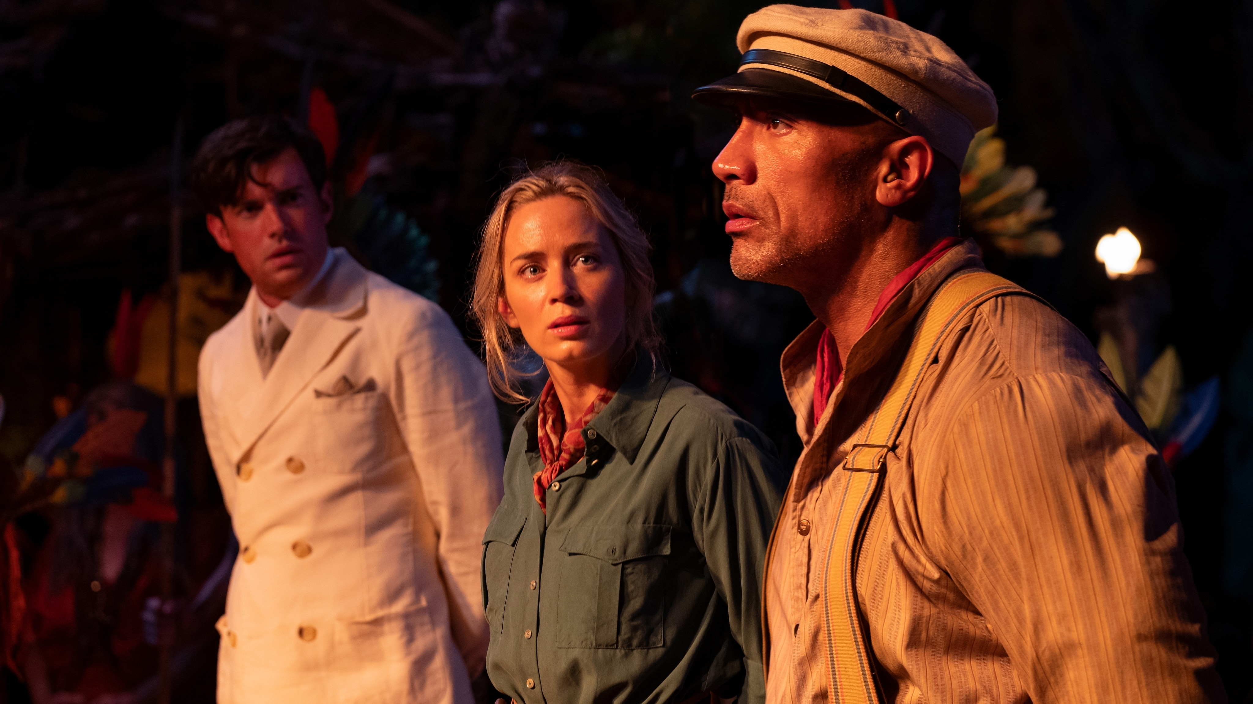 The Cast of Disney's Jungle Cruise Talks Humor, Heart, and Adventure
