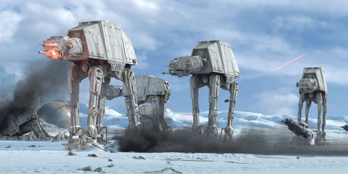 AT-AT Walker (All Terrain Armored Transport) | StarWars.com