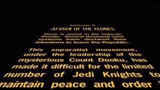Star Wars: Episode II Attack of the Clones - Opening Crawl