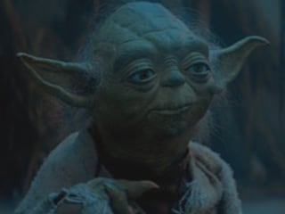 """""""Do. Or do not. There is no try."""""""
