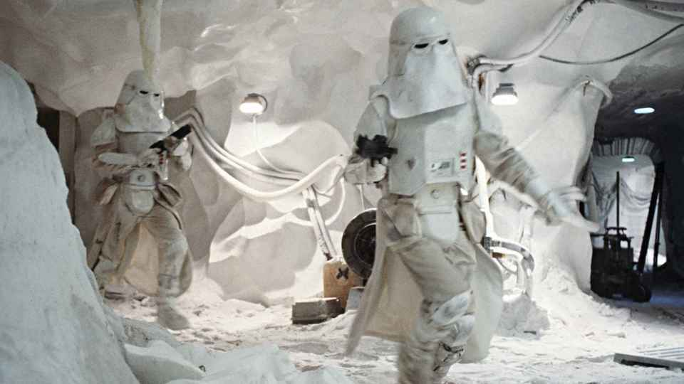 Image result for imperial snowtrooper empire strikes back