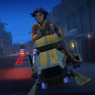 Ezra's Speeder Bike
