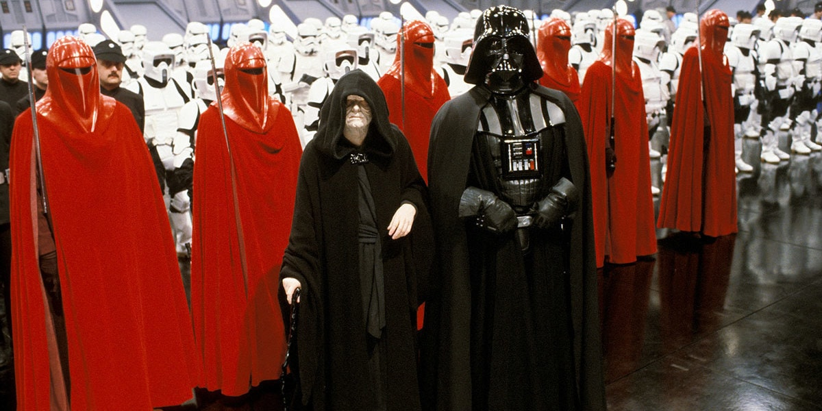 The Galactic Empire in Star Wars