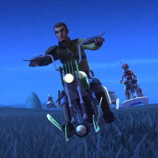 Kanan's Speeder Bike