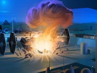 Fire Across the Galaxy Concept Art Gallery