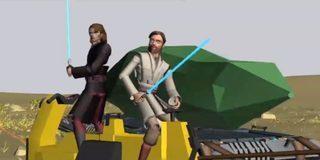 Star Wars: The Clone Wars - Story Reel: Crystal Crisis