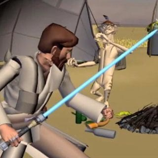 Star Wars: The Clone Wars - Story Reel: In Search of the Crystal