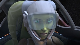 "Star Wars Rebels: ""A-wing escape"""