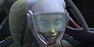 "Star Wars Rebels: ""A-wing escape"""