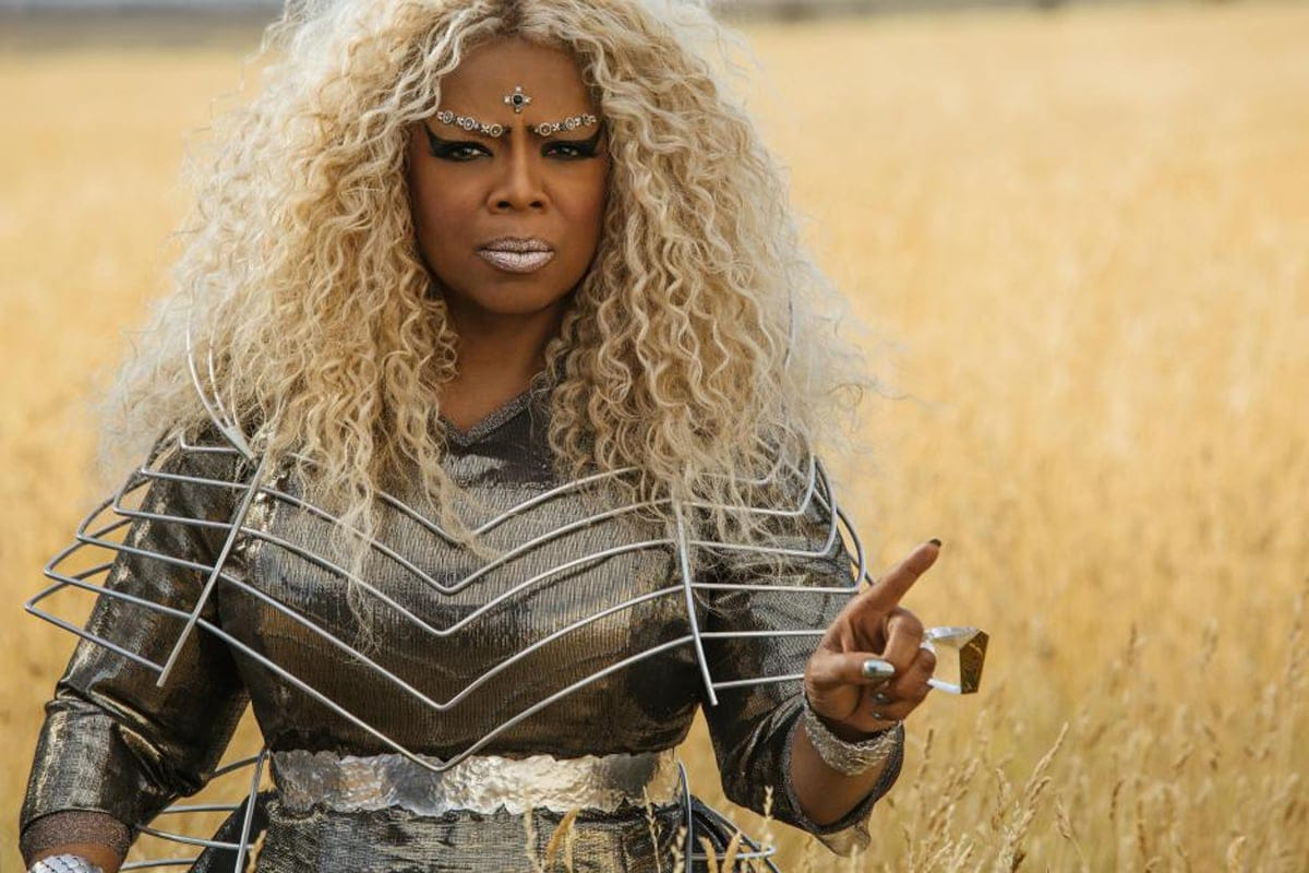 """Oprah Winfrey as Mrs. Which in """"A Wrinkle in Time"""""""