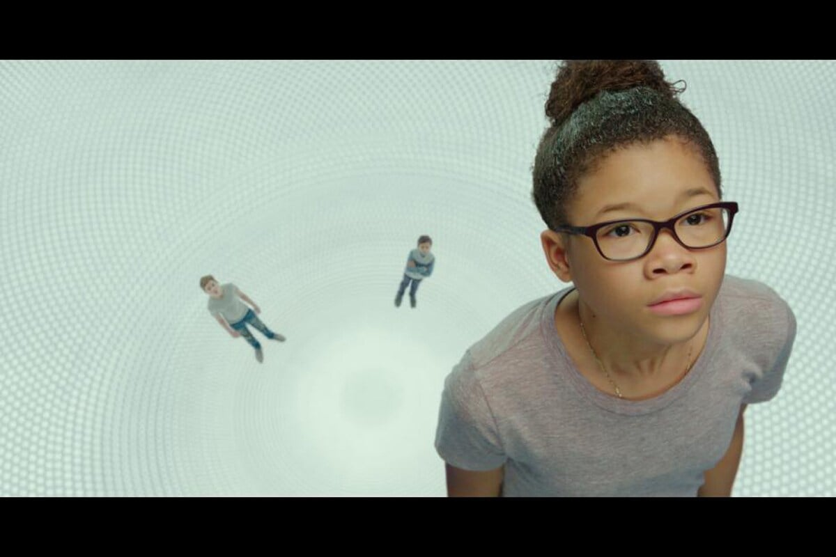 """Storm Reid in the film """"A Wrinkle in Time"""""""