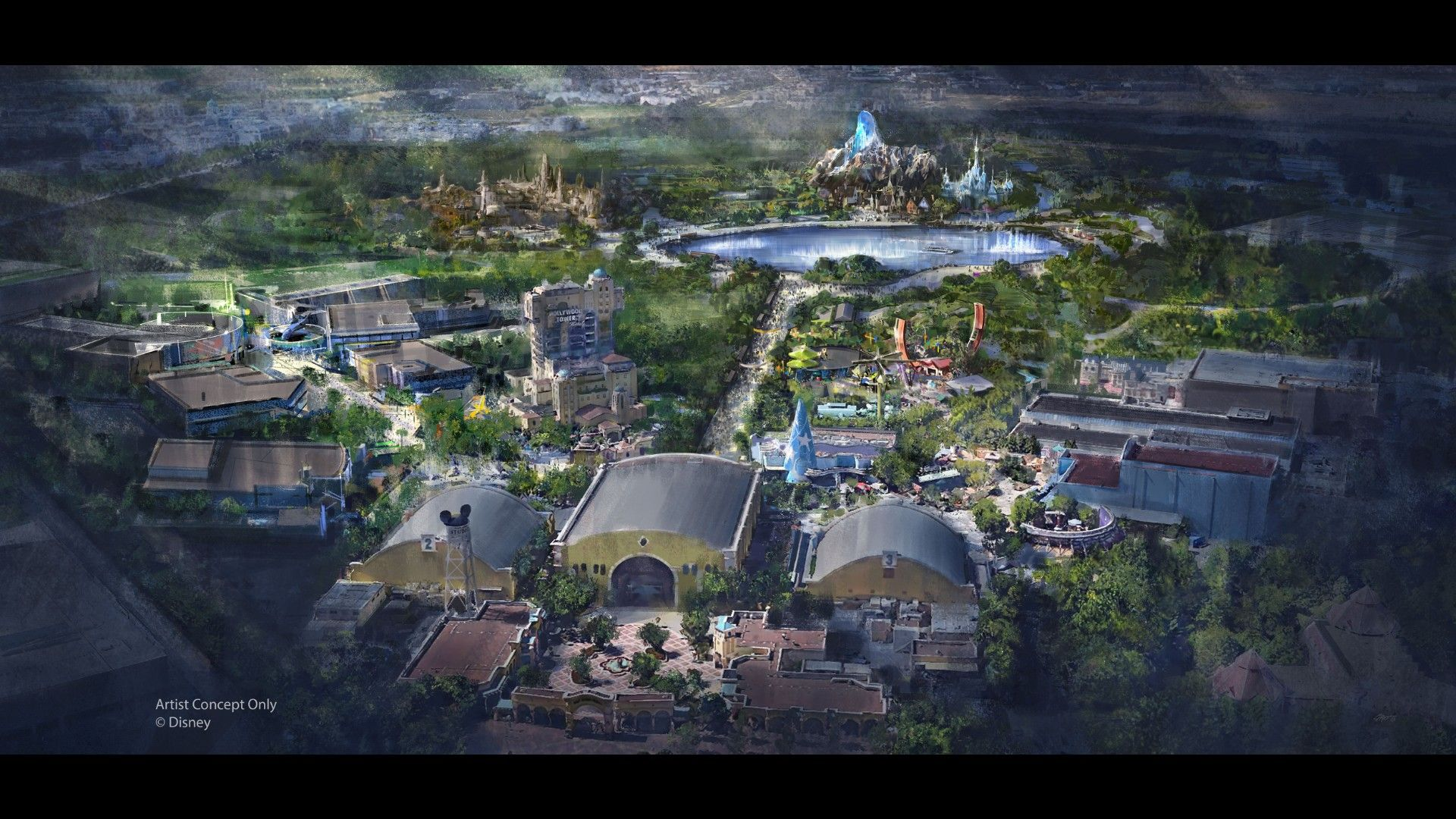 Disneyland Paris renderings